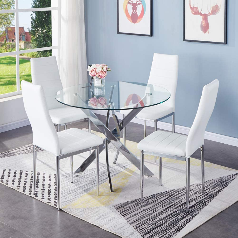 round dining table for 4 modern