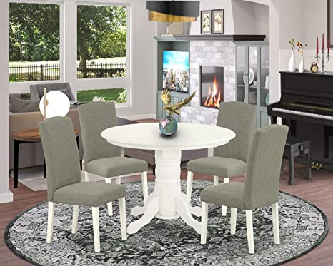 dining table with parson chairs