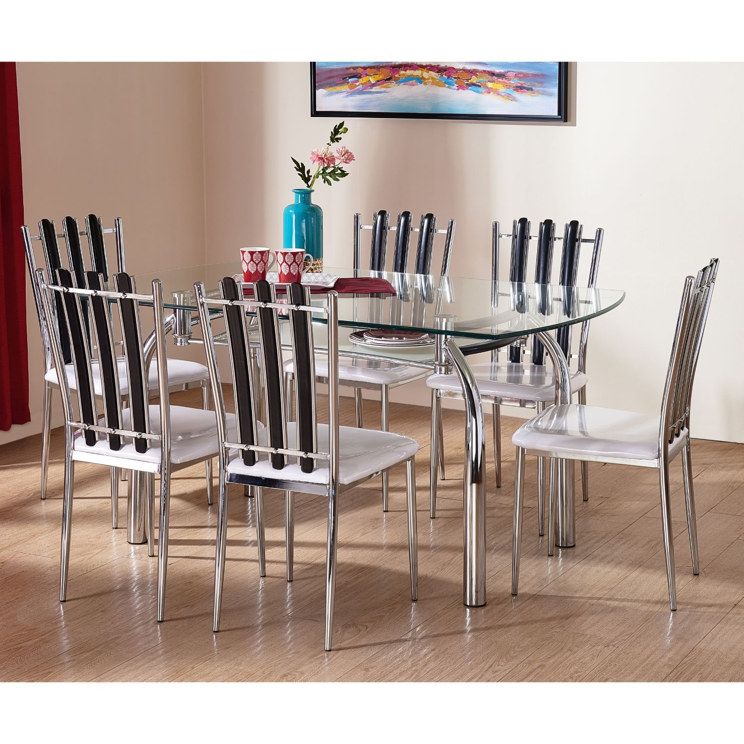 small 6 seater dining table