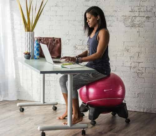 back brace for office chair