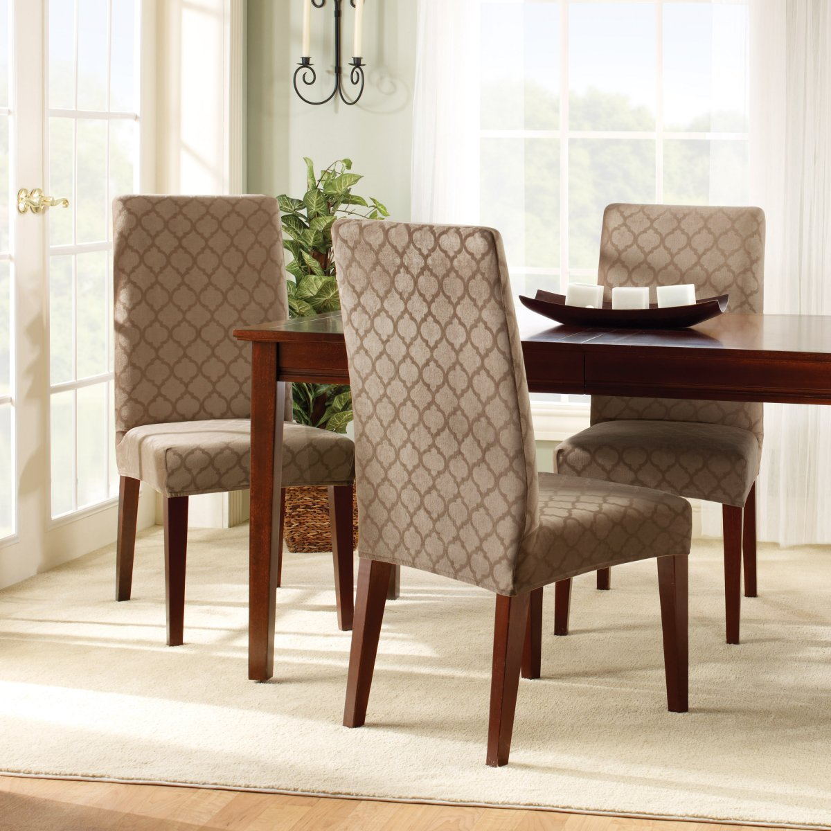 dining chair slipcovers uk
