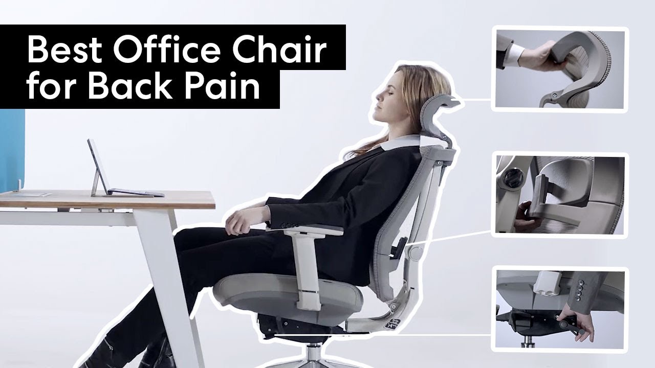 lumbar support office chairs uk