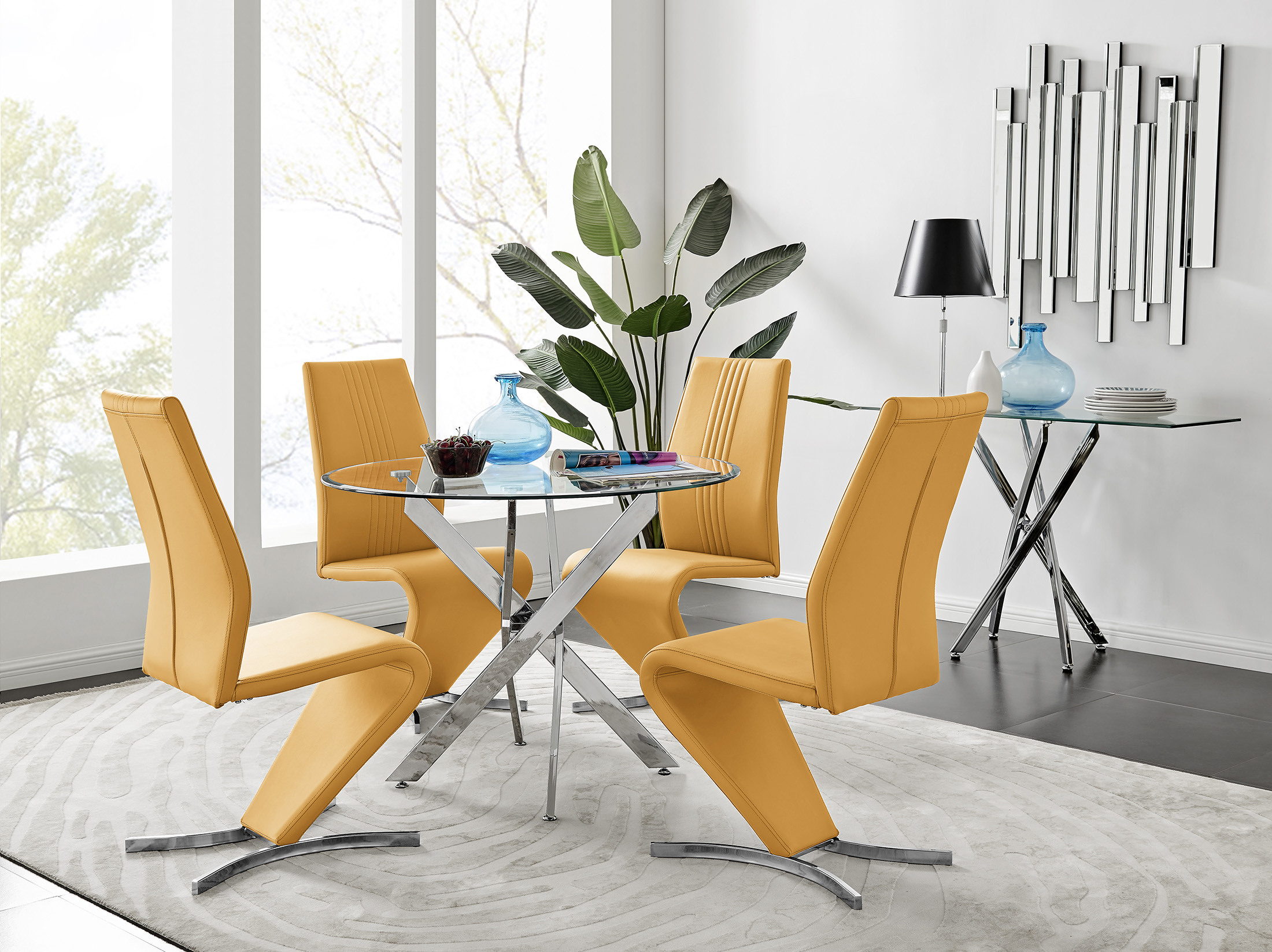 4 set dining chairs