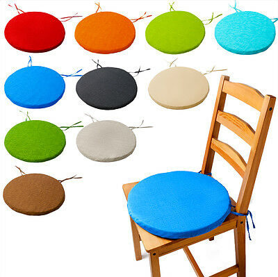 round seat pads for dining chairs