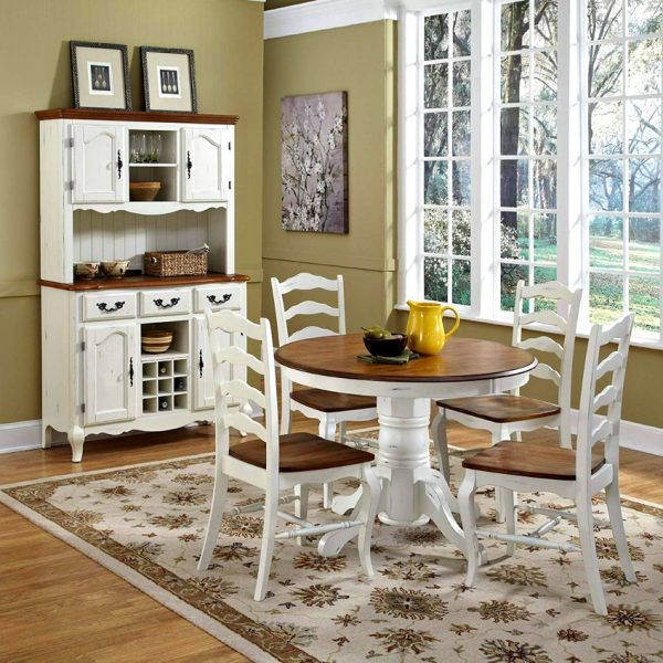 42 inch round dining table with leaf