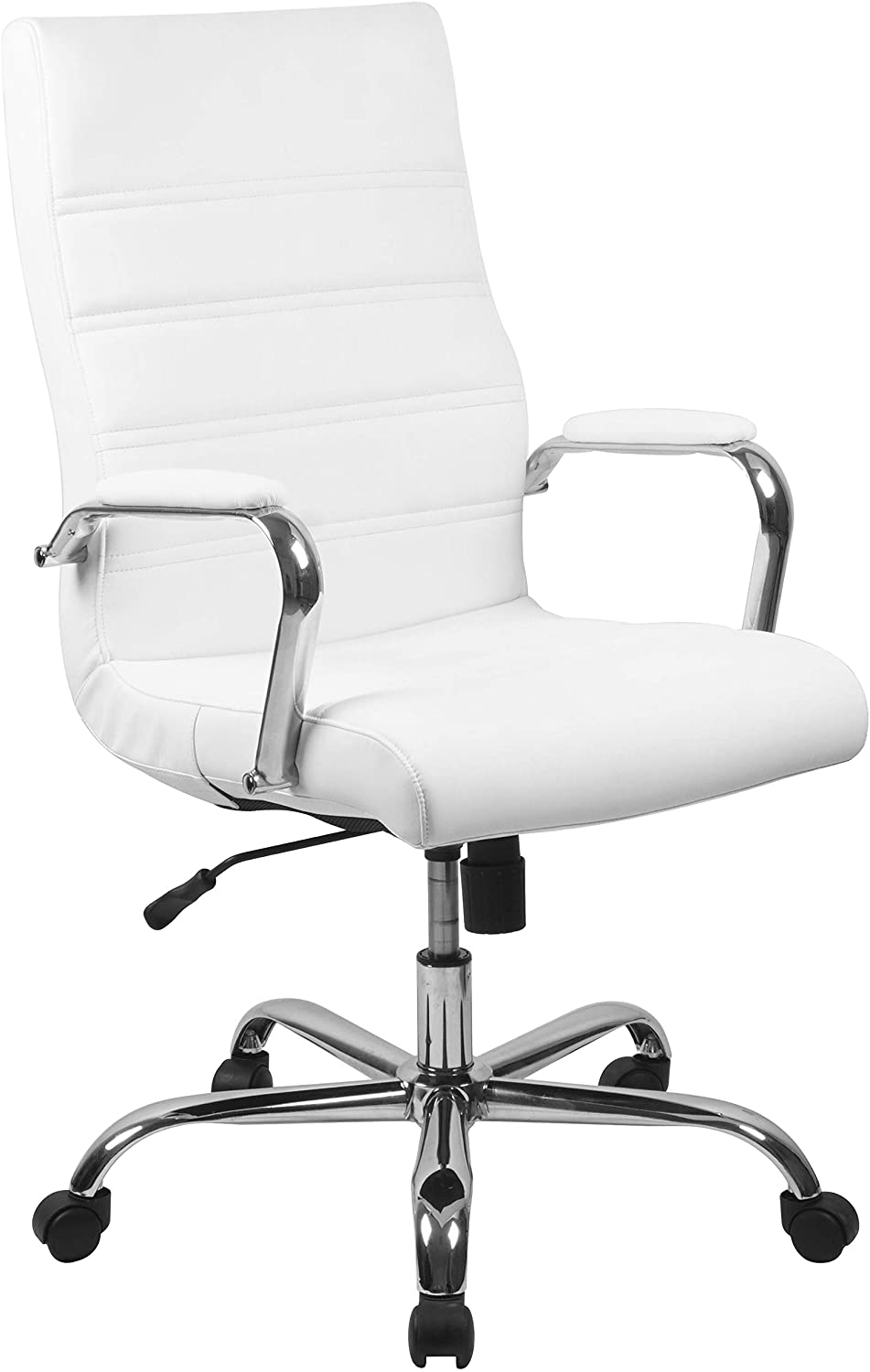 flash furniture leather executive office chair