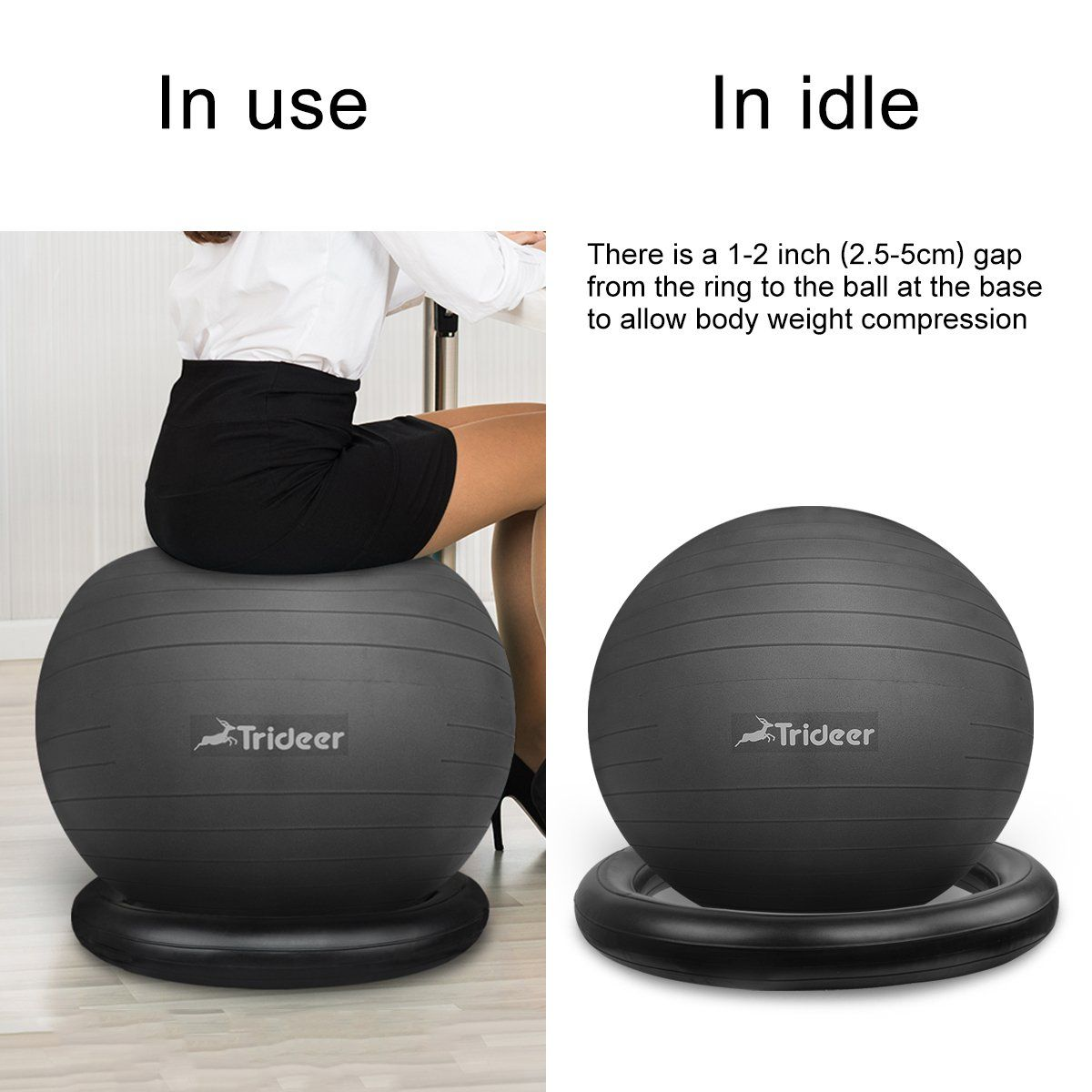 medicine ball chair for office