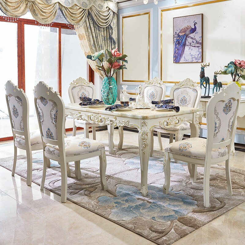 marble topped dining tables