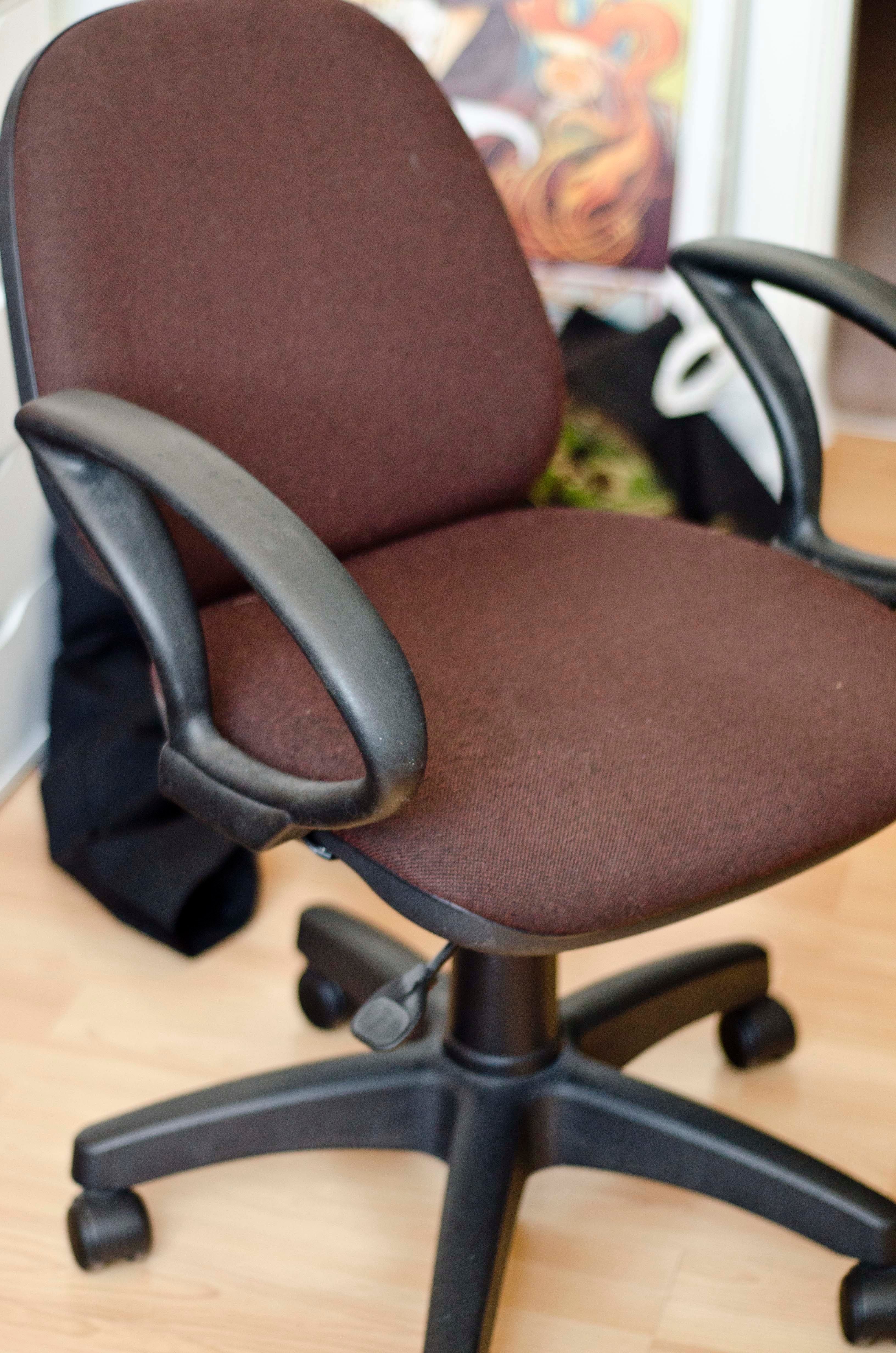 Give Those Old Desk Chairs New Life 7 Steps With Pictures Instructables