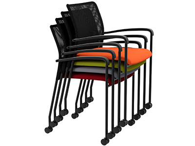 stacking office chair
