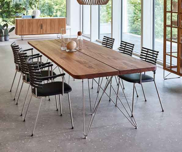 danish style dining table