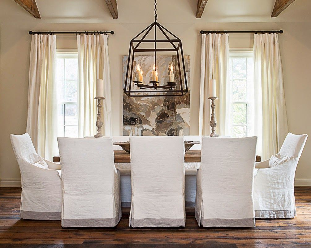 Simple Details Ikea Henriksdal Chair Slip Covered Dining Chairs Dining Room Chair Slipcovers Slipcovers For Chairs