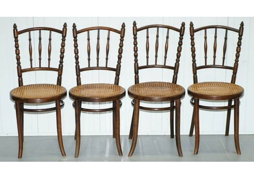 vintage wicker dining chairs