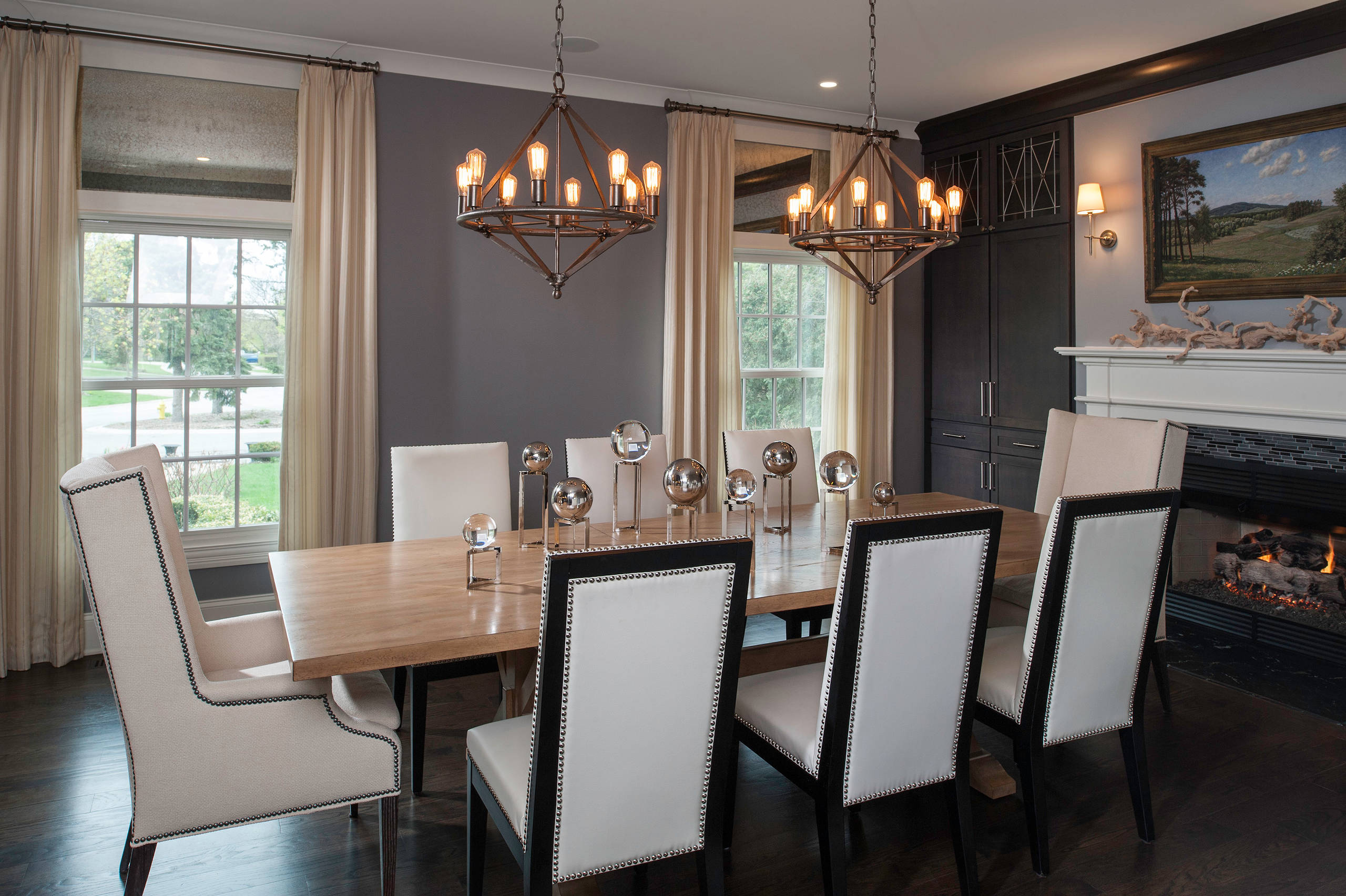 captains chairs dining room