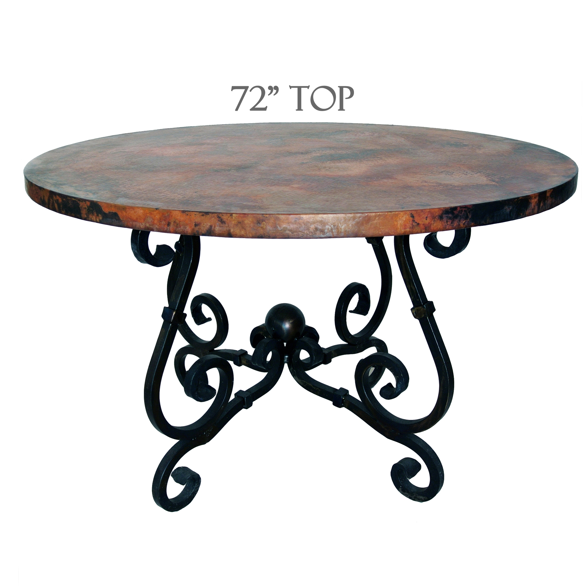 72 inch round pedestal dining table