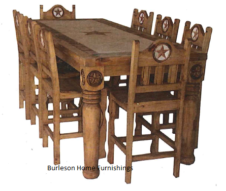 western dining room tables