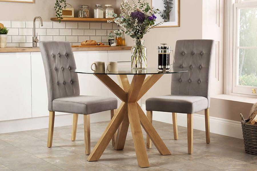 Dining Table 2 Chairs Furniture And Choice
