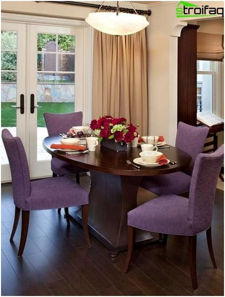 oval shaped dining tables