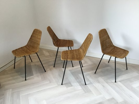 wicker dining chairs for sale
