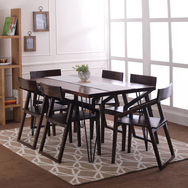 modern design dining table 6 seater
