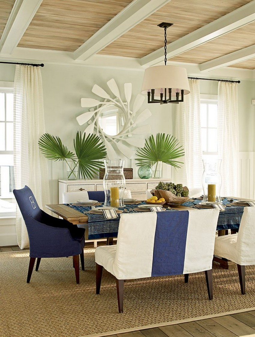 beach dining table and chairs