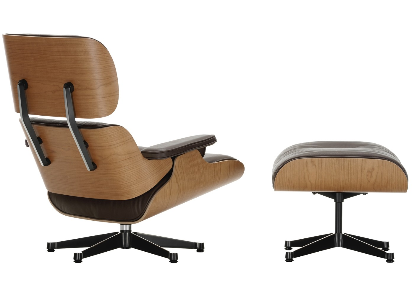 cherry wood office chair