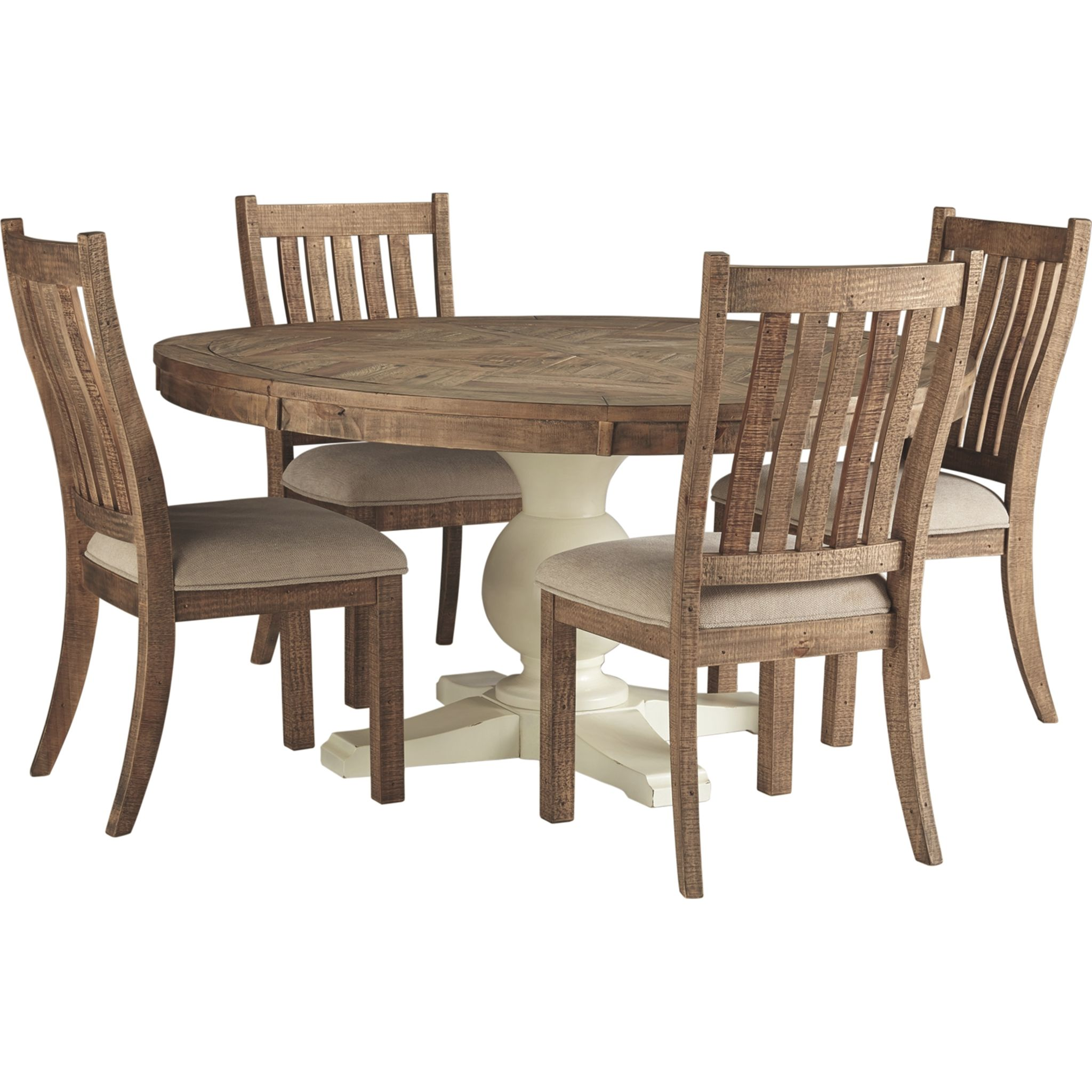 hillcott dining table and 4 chairs and bench set