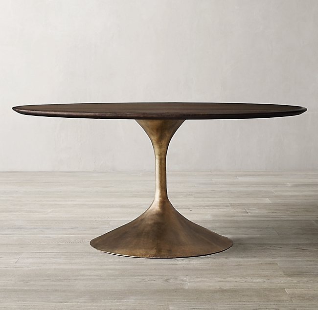 round or oval dining tables