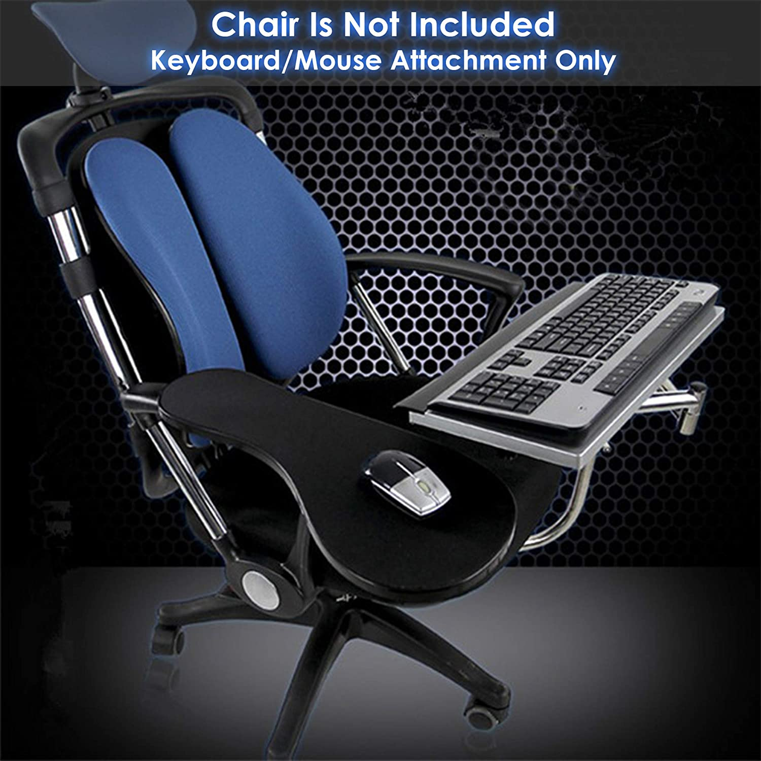office chair with mouse platform