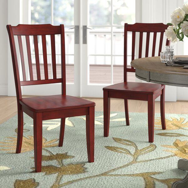 cherry finish dining chairs