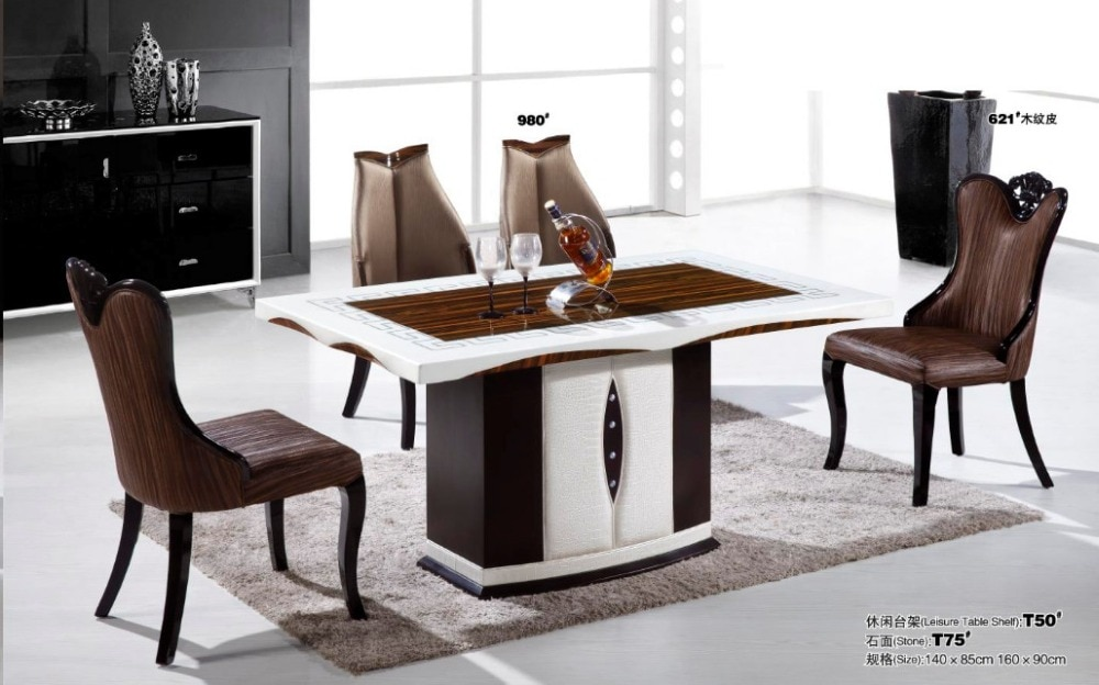 marble top dining table price