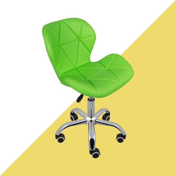 bright green office chair