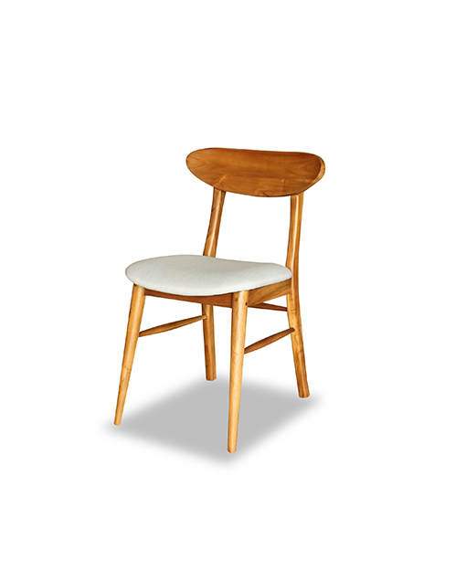 wood dining chairs with upholstered seats