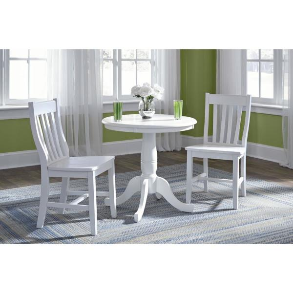 30 inch round dining table and chairs