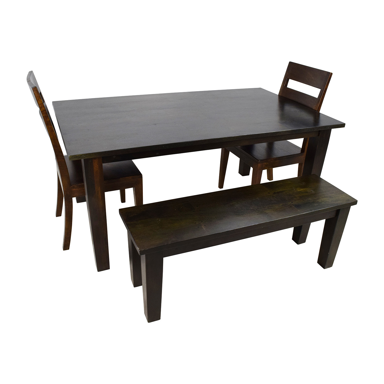 crate and barrel dining table and chairs