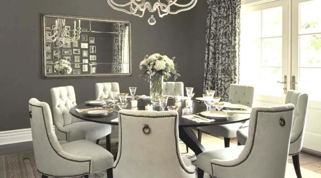 round dining table 8 chairs