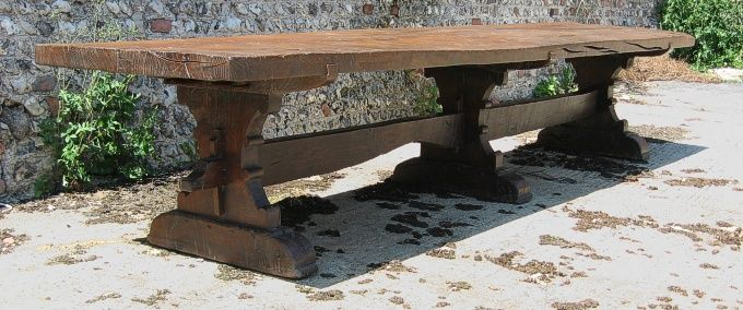 old style dining tables
