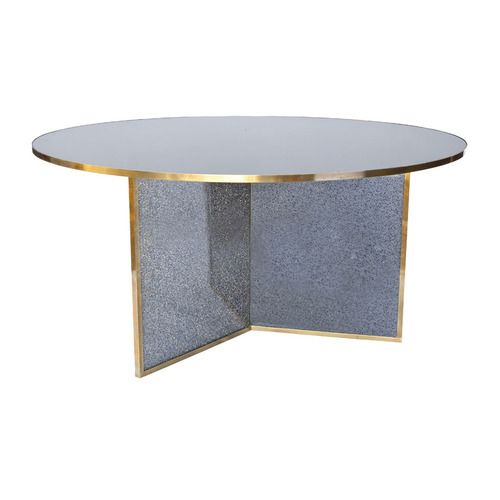 cracked glass dining table