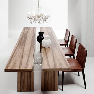 designer glass dining table and chairs