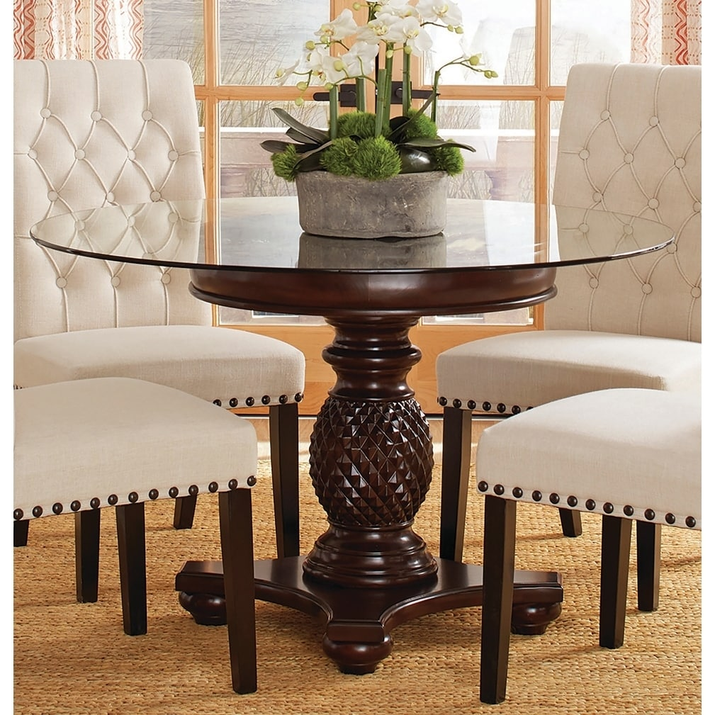 table base for glass dining table