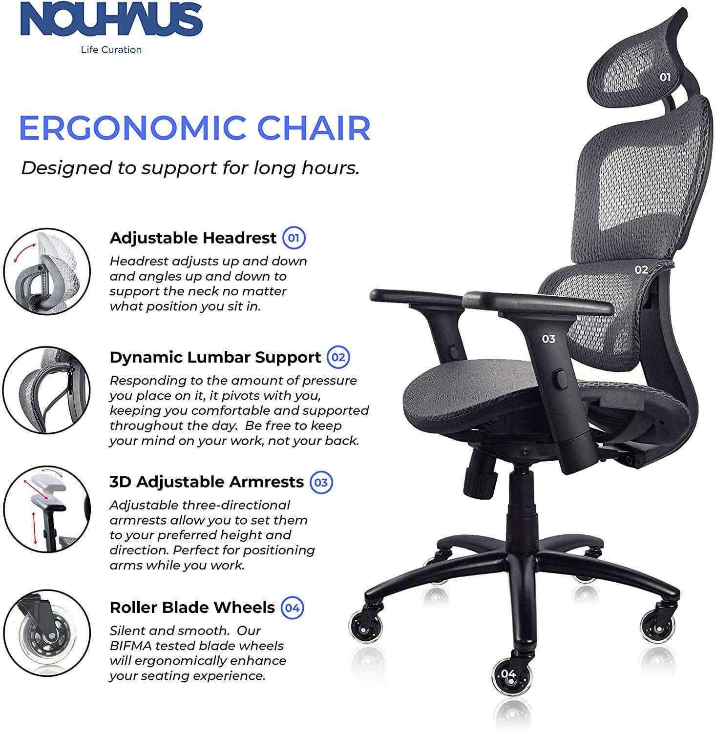 best office chair for back and neck support