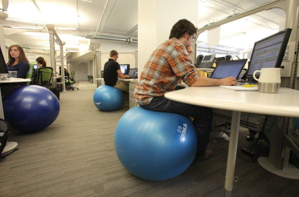 stability ball office chair