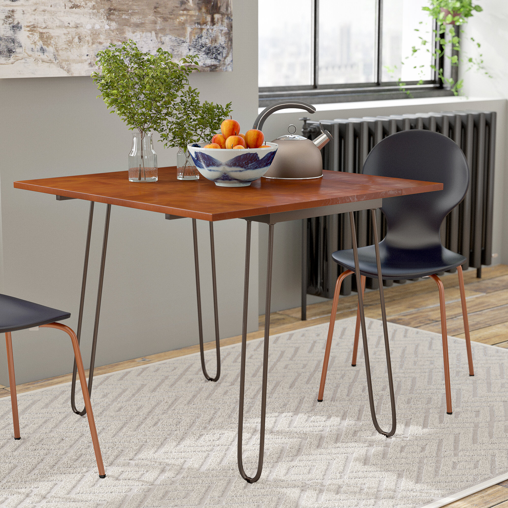 very small dining table for two