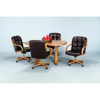 caster chair dining sets