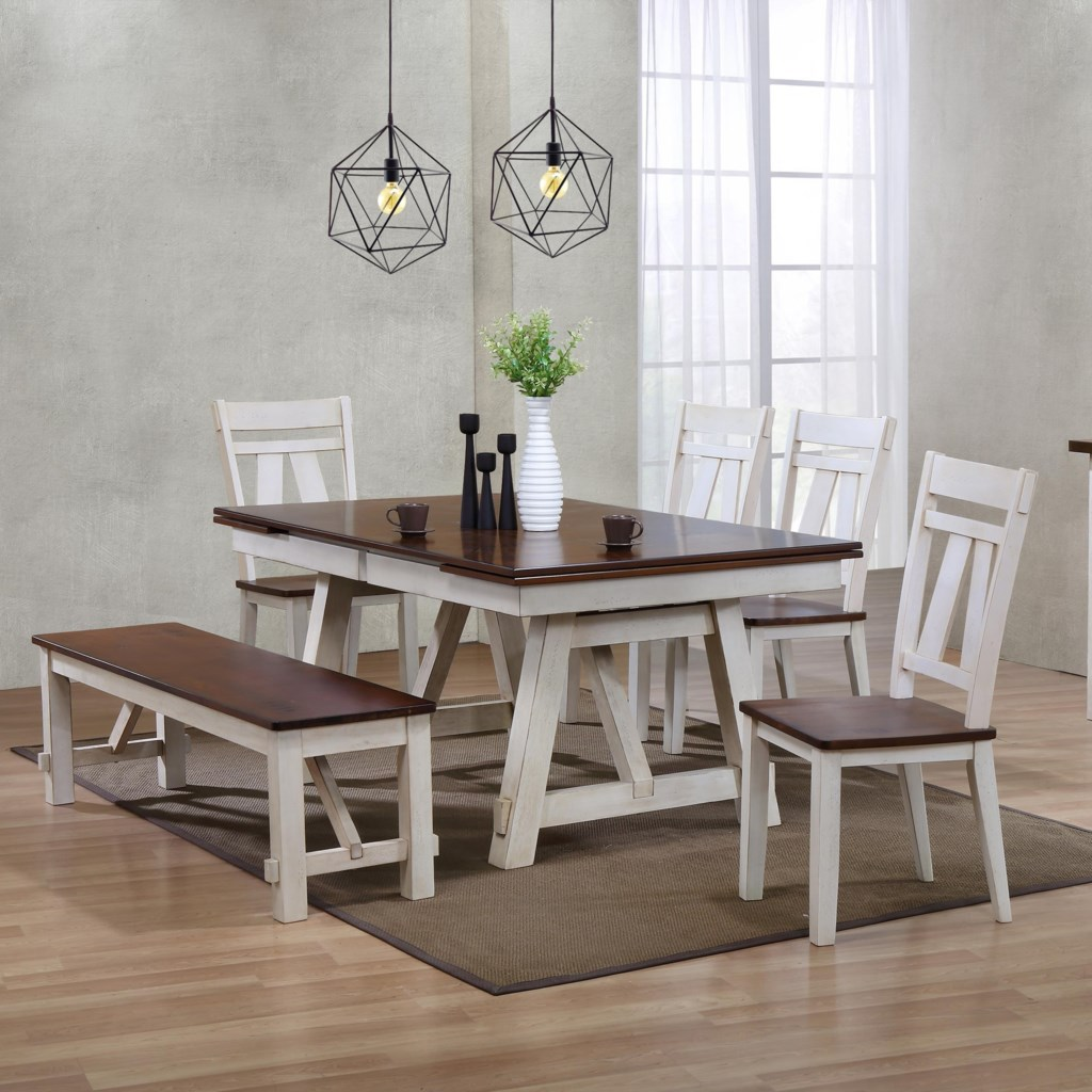 bench set dining table