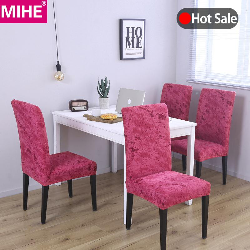 pink dining chair covers