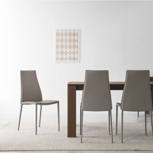 calligaris ice dining chair