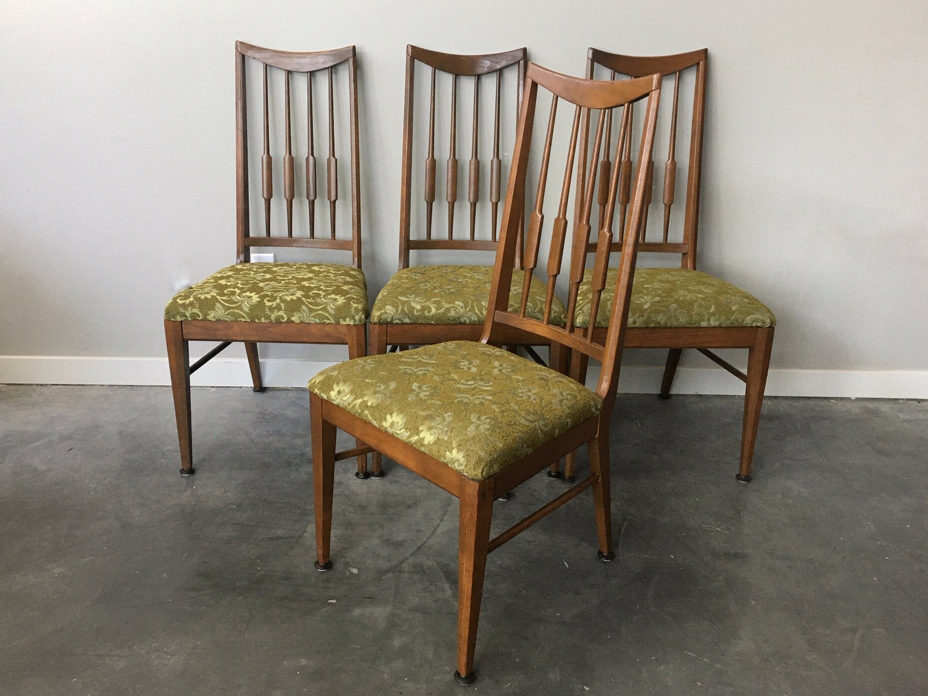 mid century modern dining chairs for sale