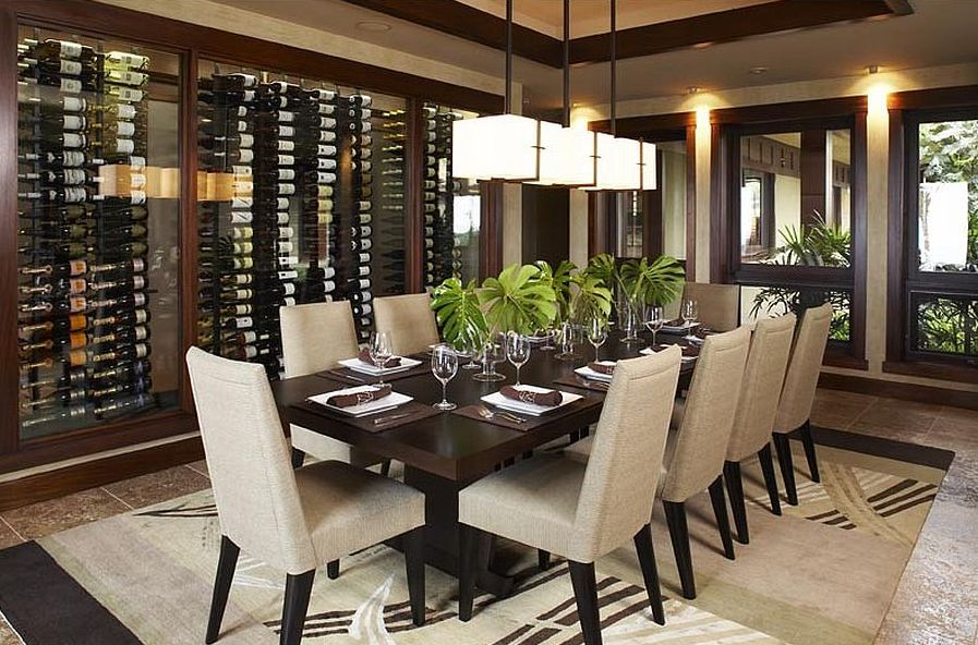 asian dining room chairs