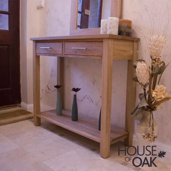 modern dining room console table